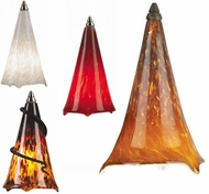 Tech Mini Ovation Low-Voltage Halogen Art Glass Pendant Light