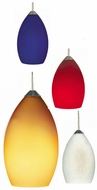 Tech Raindrop Low-Voltage Halogen Art Glass Mini Pendant Light