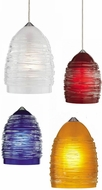 Tech Small Nest Low-Voltage Halogen Art Glass Pendant Light