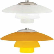 Tech Sydney Low-Voltage Halogen Art Glass Pendant Light