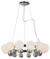 PLC 67012 Pluto 12-light Contemporary Chandelier Light