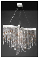 PLC 81325PC Progetti 10-light Chandelier Large
