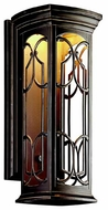 Kichler 49228OZLED Franceasi 22  Outdoor LED Wall Sconce