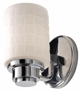 Feiss VS32001-CH Wadsworth Transitional 7 Inch Tall Lighting Sconce - Chrome