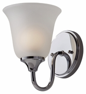 Feiss VS30001-CH Jela Chrome Transitional 8 Inch Tall Wall Lighting Sconce - 7 Inch Extension