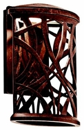 Kichler 49249AGZLED Maya Palm Rustic Large Outdoor LED Wall Sconce