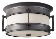 Feiss OL9113OLC Dockyard Outdoor 11 Inch Diameter Oil Can Ceiling Light Fixture
