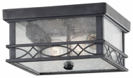 Feiss OL8013FOG Liberty Exterior Flush Mount Ceiling Light
