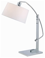 Lite Source LS21560CWHT Karm Contemporary Fluorescent Table Lamp