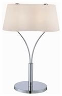Lite Source LS21539CFRO Groda Contemporary Table Lamp