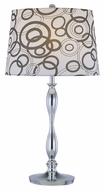Lite Source LS21591 Cirkel Contemporary Table Lamp