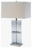 Lite Source LS21588CWHT Kaveri Contemporary Fluorescent Table Lamp