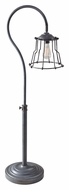 Feiss FL6305AF Urban Renewal Nautical 51 Inch Tall Antique Forged Iron Floor Lamp Light