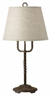 Feiss 10139ORB Montereau Oil Rubbed Bronze 24 Inch Tall Transitional Table Light