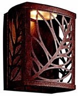 Kichler 49250AGZLED Takil rustic Small Outdoor LED Wall Sconce