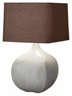 Feiss 10164IC Ceramica 27 Inch Tall Ivory Crackle Table Light