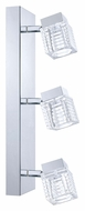 EGLO 200261A Quarto 17 Inch Wide 3 Lamp LED Ceiling & Wall Light Fixture