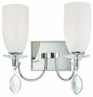 Troy B2242PN Shelborne 2-Lamp Vanity Light