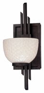 Troy B2761 Kendo Contemporary 13 Inch Tall Sconce Light Fixture - Kendo Bronze Finish