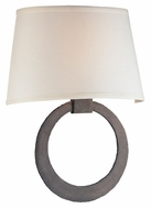 Troy B2632 Wyland 15 Inch Tall Aged Pewter Finish 2 Lamp Sconce Lighting