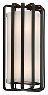 Troy B2811 Drum 2 Lamp 14 Inch Tall Sconce Lighting With Finish Options