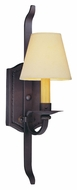 Troy B2791 Wyatt Classic 20 Inch Tall Federal Bronze Wall Light
