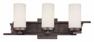 Troy B2613 Sapporo Silver 3 Lamp 20 Inch Wide Contemporary Bathroom Vanity Light