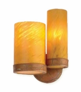 Troy B9162FG-R Lumiere Hand-Worked Wrought Iron Caramel Wall Sconce (R) with Florentine Gold Finish