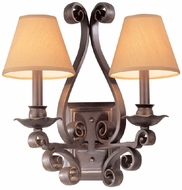 Troy B8842HB Ventana 2 Light Wall Sconce