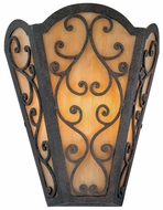 Troy B1661-FI Wythe 2 Light Wrought Iron Wall Sconce