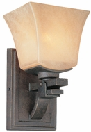 Troy B1691-FI Taos Single Light Forged Iron Wall Sconce