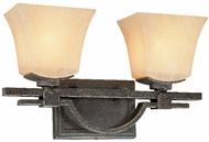 Troy B1692-FI Taos 2 Light Forged Iron Vanity / Wall Fixture