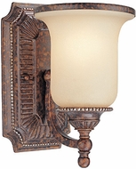 Troy B1491HL Waldorf 1 Light Amber and Heirloom Wall Sconce Lighting Fixture