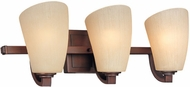 Troy B1483VN Rigoletto 3 Light Veneto Bronze Vanity Wall Lighting Fixture