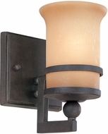 Troy B1221NR Ranier 1 Light Iron Rust Wall Sconce Lighting Fixture