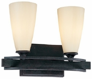 Troy B1682FR Palisade 2 Light Wrought Iron Vanity Fixture