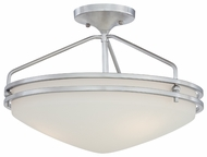 Quoizel OZ1716C Ozark Large Semi-Flush Mount Ceiling Light