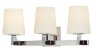 Troy B1913PC Saratoga 3 Light Vanity / Wall Fixture
