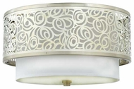 Quoizel JS1615BN Josslyn Contemporary Flush Mount Ceiling Light