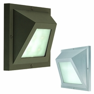 CSL SS1030 Edge Fluorescent Outdoor Wall Light with LED Option