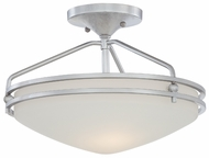 Quoizel OZ1713C Ozark Medium Semi-Flush Mount Lighting Ceiling Fixture