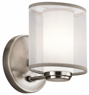 Kichler 42924CLP Saldana Wall Lighting Fixture Sconce