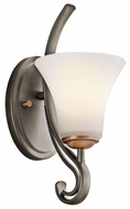 Kichler 45985OZ Claridge Court 1-lamp Sconce Lighting