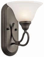 Kichler 5556OZ Stafford Traditional Wall Sconce Light