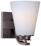 Maxim 9011SWOI Conical Oil-Rubbed Bronze Contemporary Wall Sconce Fixture