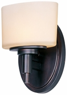 Maxim 9021DWOI Lola 1-light Modern Bathroom Sconce in Oil-Rubbed Bronze