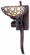 Maxim 21348DWUB Meridian Umber Bronze Wall Sconce