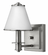 Fredrick Ramond 53230BNI Coco 1-lamp Brushed Nickel Bath Wall Sconce