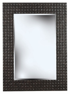 Kenroy Home 60012 Murphy 38 Inch Tall Black Multi-Finish Wall Mounted Mirror
