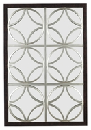 Kenroy Home 60016 Gable Walnut With Silver Terellis 39 Inch Tall Mirror